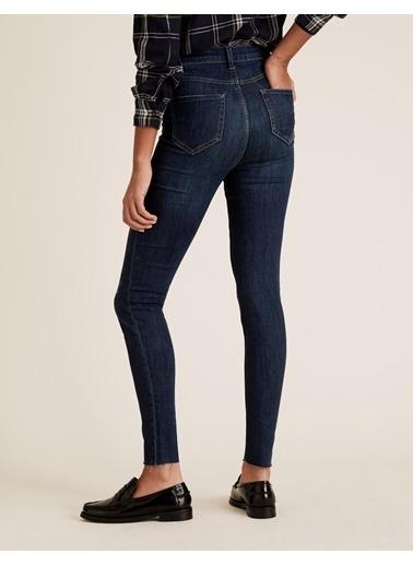 Marks & Spencer Yüksek Bel Skinny Jean Pantolon Lacivert